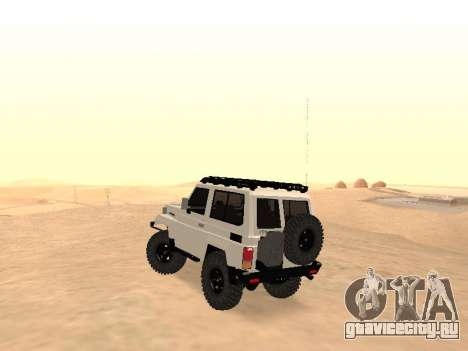 Toyota Machito Off-Road (IVF) 2009 для GTA San Andreas вид сзади слева