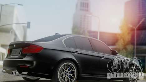 BMW M3 F30 SEDAN для GTA San Andreas вид слева