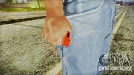 iPhone 5 Red для GTA San Andreas третий скриншот