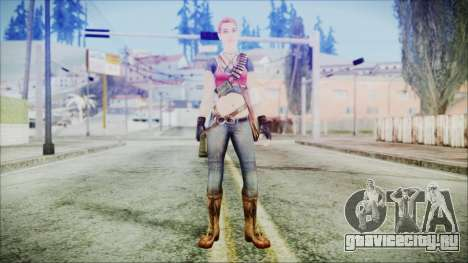 Evelyn from Contract Killer Zombies для GTA San Andreas второй скриншот