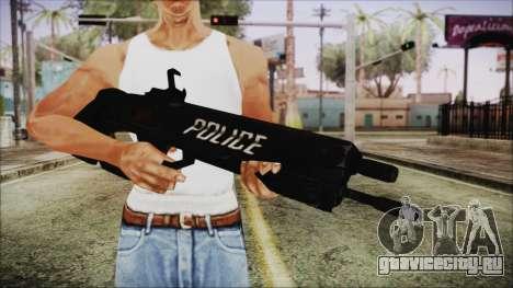Cyberpunk 2077 Rifle Police для GTA San Andreas третий скриншот