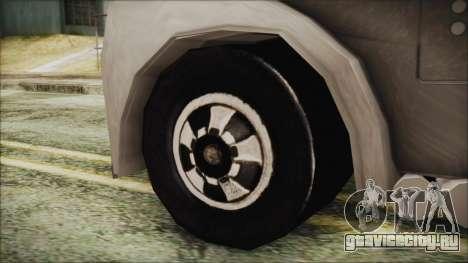 Hot Wheels Funny Money Truck для GTA San Andreas вид сзади слева