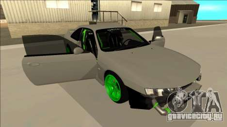 Nissan Silvia S14 Drift Monster Energy для GTA San Andreas вид снизу