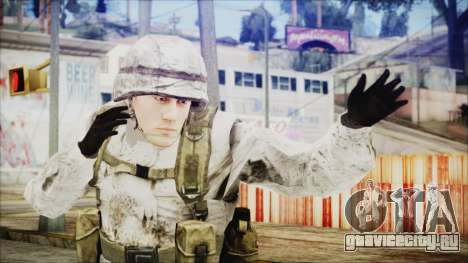 World In Conflict US Marine Winter для GTA San Andreas