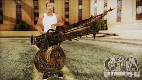 Fallout 4 Shredding Minigun для GTA San Andreas третий скриншот
