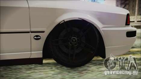 Audi 80 B4 RS2 New для GTA San Andreas вид сзади слева
