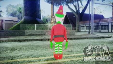 Christmas Elf v1 для GTA San Andreas третий скриншот