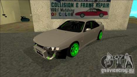 Nissan Silvia S14 Drift Monster Energy для GTA San Andreas