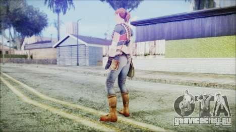 Evelyn from Contract Killer Zombies для GTA San Andreas третий скриншот
