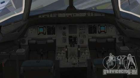 Airbus A320-200 Etihad Airways Abu Dhabi Grand для GTA San Andreas вид справа