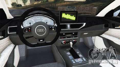 Audi RS7 2016 для GTA 5