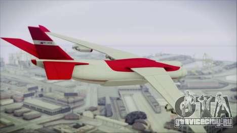 GTA 5 Cargo Plane для GTA San Andreas вид слева