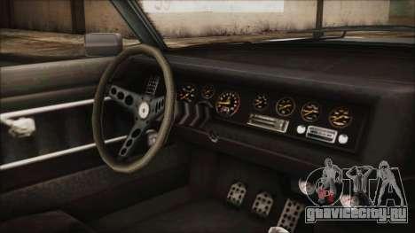 Imponte Nightshade для GTA San Andreas вид справа