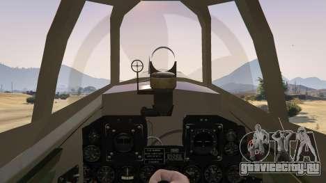 P-47D Thunderbolt для GTA 5 четвертый скриншот