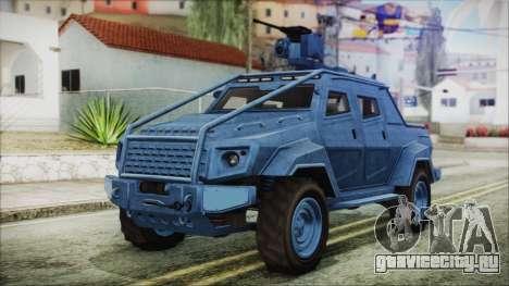 GTA 5 HVY Insurgent Pick-Up IVF для GTA San Andreas