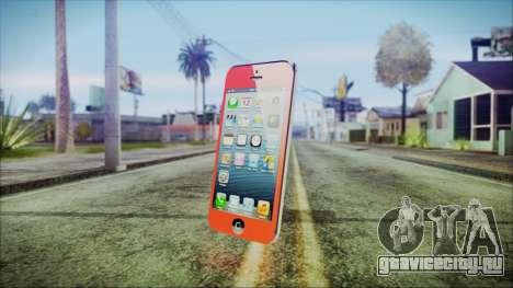 iPhone 5 Red для GTA San Andreas