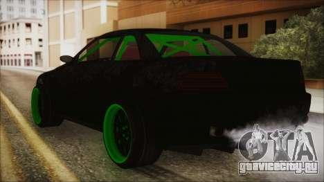 GTA 5 Sentinel RS для GTA San Andreas вид слева