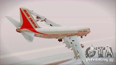 Boeing 747-237Bs Air India Chandragupta для GTA San Andreas вид слева