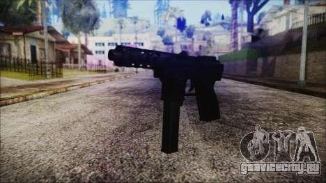 TEC-9 Tiger Stripe для GTA San Andreas