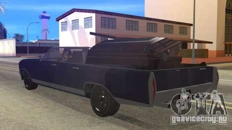 GTA 5 Albany Lurcher Cabrio Style для GTA San Andreas вид слева