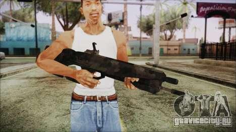 Cyberpunk 2077 Rifle Camo для GTA San Andreas третий скриншот