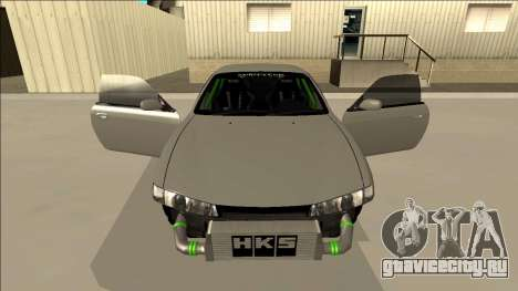 Nissan Silvia S14 Drift Monster Energy для GTA San Andreas вид сверху