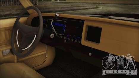 Dodge Monaco 1974 SFPD для GTA San Andreas вид справа