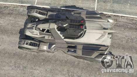 Batmobile Mk2 v0.9 для GTA 5 вид сзади