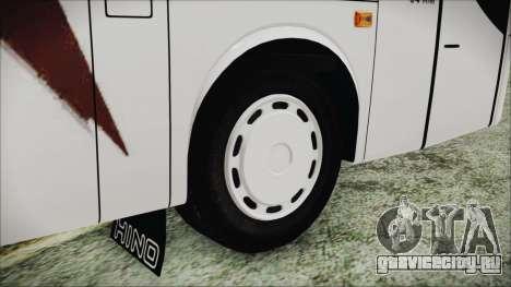 Starbus 34XM для GTA San Andreas вид сзади слева