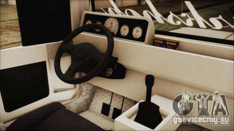 Markshop Jeepney для GTA San Andreas вид справа