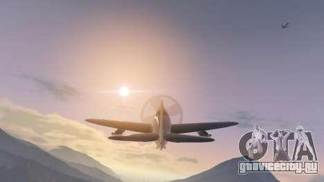 P-47D Thunderbolt для GTA 5 пятый скриншот