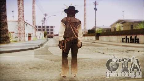 John Marston from Red Dead Redemtion для GTA San Andreas третий скриншот