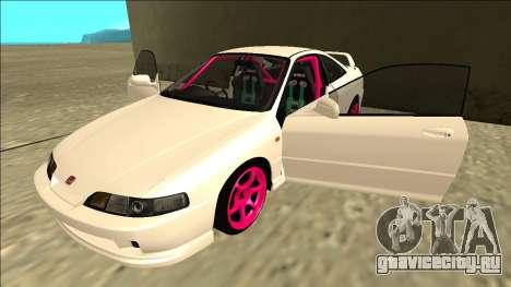 Honda Integra Drift для GTA San Andreas вид сбоку