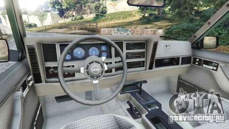 Jeep Cherokee XJ 1984 [Beta] для GTA 5