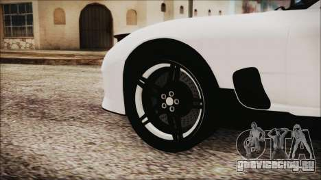 Mazda RX-7 Enhanced Version для GTA San Andreas вид сзади слева