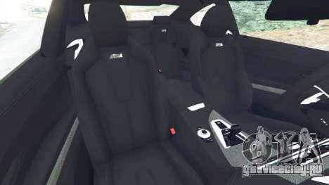 BMW M6 2013 для GTA 5 вид справа