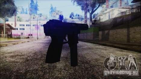 TEC-9 Tiger Stripe для GTA San Andreas второй скриншот