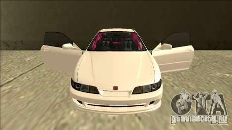 Honda Integra Drift для GTA San Andreas вид сверху