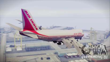 Boeing 747-237Bs Air India Harsha Vardhan для GTA San Andreas вид слева