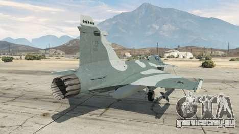 Saab JAS 39 Gripen NG FAB [Beta] для GTA 5 третий скриншот