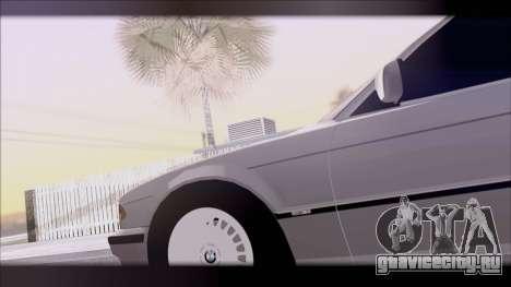 BMW 7-er E38 для GTA San Andreas вид справа
