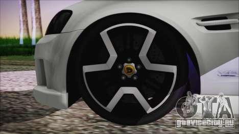 Holden Commodore SS Ute 2012 для GTA San Andreas вид сзади слева