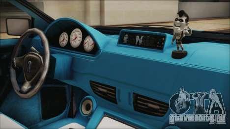 GTA 5 Albany Primo Custom Bobble Version IVF для GTA San Andreas вид сзади