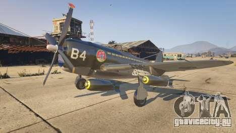 P-47D Thunderbolt для GTA 5