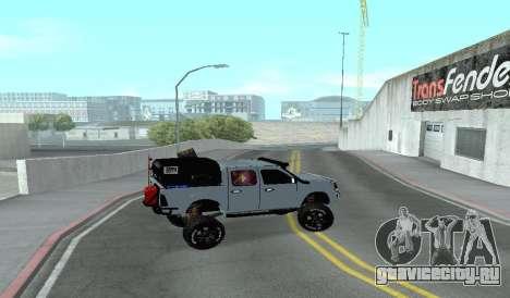 Chevrolet Luv D-MAX 2015 OFF-ROAD ALL-TERRAIN для GTA San Andreas вид слева