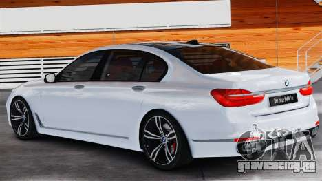 BMW 7-er 2016 v2.0 для GTA 4 вид слева