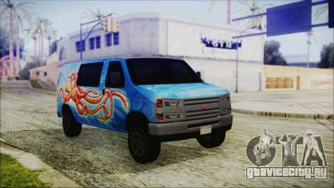GTA 5 Bravado Paradise Octopus Artwork для GTA San Andreas