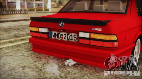 BMW M5 E28 1988 для GTA San Andreas вид сбоку