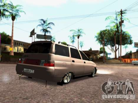 ВАЗ 2111 Tuning для GTA San Andreas вид слева
