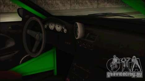 GTA 5 Sentinel RS для GTA San Andreas вид справа